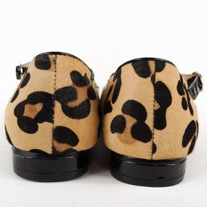 torrid Shoes - Torrid Leopard Flats Print Calf Hair Mary Jane